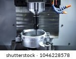 a cnc milling and drilling... | Shutterstock . vector #1046228578