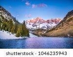 The Rocky Mountains Near Aspen...