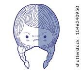 blue shading silhouette of...   Shutterstock .eps vector #1046240950