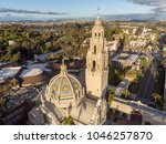 old scenic church at sunset... | Shutterstock . vector #1046257870