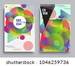 covers templates set with... | Shutterstock .eps vector #1046259736