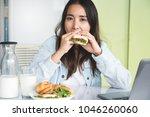 business entrepreneur lifestyle.... | Shutterstock . vector #1046260060