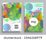 covers templates set with... | Shutterstock .eps vector #1046268979