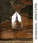 Small photo of Landscape Ayutthaya Historical Park in Ayutthaya. The famous temple of the equivalent human Thailand.