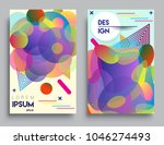 covers templates set with... | Shutterstock .eps vector #1046274493