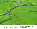 aerial view of lush coastal... | Shutterstock . vector #104627510