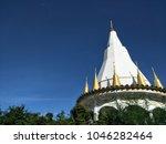 buddha temples in ratchaburi | Shutterstock . vector #1046282464