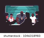 identification of criminal... | Shutterstock .eps vector #1046318983