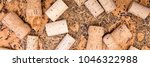 Small photo of Header, wine and champagne cork spreading on untreated cork, naturally product