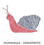 hand drawn illustration of red... | Shutterstock . vector #1046336923