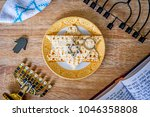jewish passover concept   a... | Shutterstock . vector #1046358808