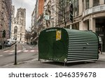 brussels  belgium. january 25 ... | Shutterstock . vector #1046359678