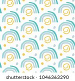 seamless repeating pattern.... | Shutterstock .eps vector #1046363290