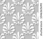 floral seamless background with ...   Shutterstock .eps vector #1046365690