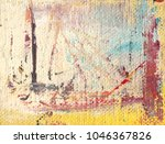oil paint on linen. abstract... | Shutterstock . vector #1046367826