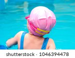 a little girl of european...   Shutterstock . vector #1046394478