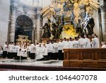 rome italy 10 24 2015. holy... | Shutterstock . vector #1046407078