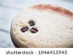 espresso martini cocktail drink ... | Shutterstock . vector #1046413543