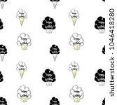 happy birthday vector seamless... | Shutterstock .eps vector #1046418280