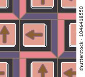 seamless abstract pattern with... | Shutterstock .eps vector #1046418550