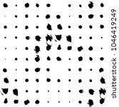 abstract grunge grid stripe... | Shutterstock .eps vector #1046419249