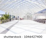 people visit a trade show.... | Shutterstock . vector #1046427400