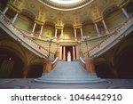 bucharest  romania   december... | Shutterstock . vector #1046442910