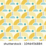 seamless repeating pattern... | Shutterstock .eps vector #1046456884