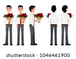 vector illustration of business ... | Shutterstock .eps vector #1046461900