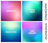 abstract vector blue pink...   Shutterstock .eps vector #1046462494