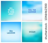 abstract vector beach blurred...   Shutterstock .eps vector #1046462500