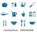 Kitchen Icons Set  Easy To Edi...