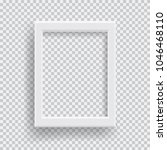 empty realistic photo frame... | Shutterstock .eps vector #1046468110
