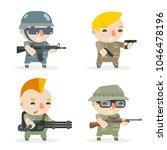 battle war rpg game soldier... | Shutterstock .eps vector #1046478196