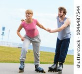 active lifestyle people and... | Shutterstock . vector #1046487544