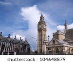The Big Ben Clock Tower Is Par...