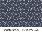 cute floral pattern in the... | Shutterstock .eps vector #1046492068