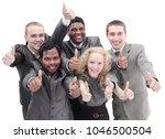 international business team... | Shutterstock . vector #1046500504