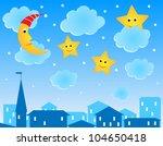 cute vector illustration of... | Shutterstock .eps vector #104650418