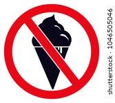 no ice vector illustration.... | Shutterstock .eps vector #1046505046