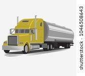 tank truck vector illustration. ... | Shutterstock .eps vector #1046508643