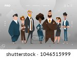 main page business design with... | Shutterstock .eps vector #1046515999