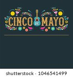 cinco de mayo   may 5  federal... | Shutterstock .eps vector #1046541499