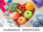healthy lifestyle concept ... | Shutterstock . vector #1046543104