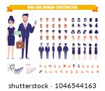 business man and woman... | Shutterstock .eps vector #1046544163