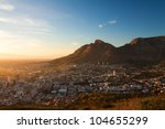 View Of The City Cape Town In...
