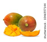 fresh  nutritious and tasty... | Shutterstock .eps vector #1046557144