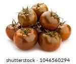 kumato tomato path isolated | Shutterstock . vector #1046560294