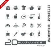 food icons   set 1 of 2   ...