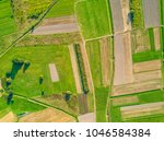 aerial view of agricultural... | Shutterstock . vector #1046584384